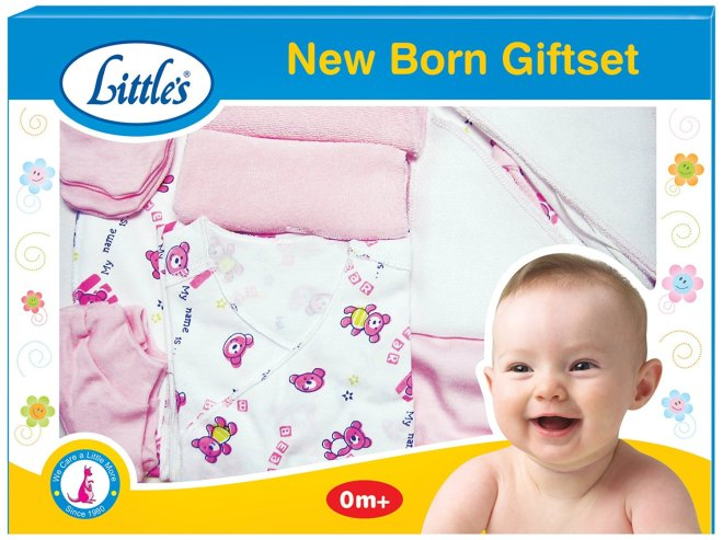 Amazon- Buy Little's New born Giftset for Rs 390