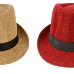 Flipkart - Eccellente Solid Fidora Hat Cap (Pack Of 2)In Just Rs 229