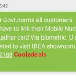 How To Link Your Aadhaar Card With Idea Mobile Number