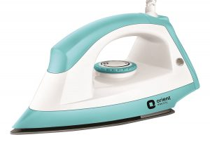 Amazon - Orient Fabri Joy 1000-Watt Dry Iron at Just Rs.497 ( 50% OFF )