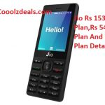 New Jio Plan - Rs 153 Plan , Rs 24 Plan & Rs 54 Plan All Details