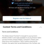 Amazon Nokia 6 App Quiz -Chance to Win Nokia 6 (Answer Added)
