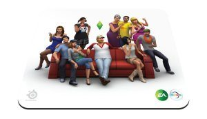 Amazon - Buy SteelSeries Qck The Sims 4 Edition 67292 Mouse pad in just Rs 99