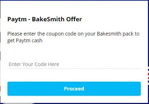 Paytm Parle Bakesmith Offer - Get Rs 18 Free Paytm On Each Pack