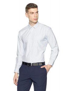 Symbol Men's Formal Dobby Slim Fit Shirt (70% OFF)