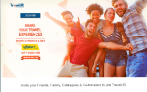 TravelUR - Refer 3 Friends and Get Free Rs 250 Flipkart Voucher