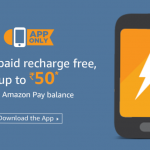 Amazon App - 1st Prepaid recharge free upto Rs 50 with Amazon Pay Balance