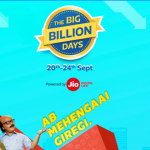 Flipkart big billion day - Big Discount on All products (20-24 september)