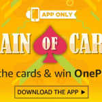 (All Answer)Amazon Train Of Cards - Collect Cards & Win One Plus 5
