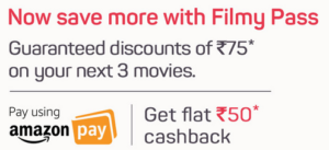 BookMyShow Filmy Pass In Just ₹49 With Amazon