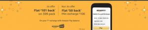 Jio Diwali Offer - Get 100% Cashback on Jio Rs 399 Recharge