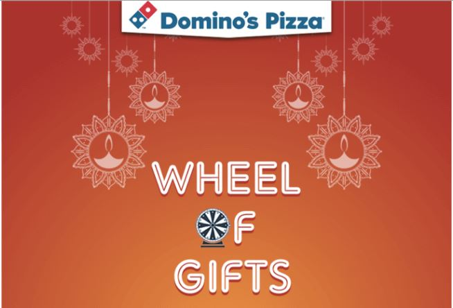 Domino's Spin & Win - Play & Win Discount Coupons