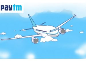 Paytm Offers - Get Rs 1000 Cashback on Flight Bookings