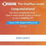 (17th November Answers )Amazon One Plus Levels - Answer and win One Plus 5T
