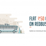 Redbus Freecharge Offer - Get Rs.50 Cashback on Bus Tickets