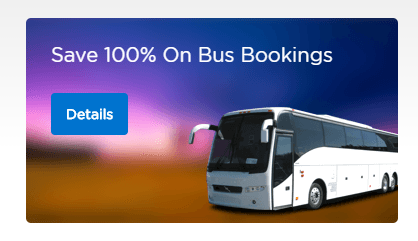 Mobikwik 100% Cashback Offer - Get 100% Supercash up to Rs.750 on Bus Tickets