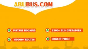 AbuBus - Flat Rs 200 Off on Bus Ticket Booking of Rs 250 or more