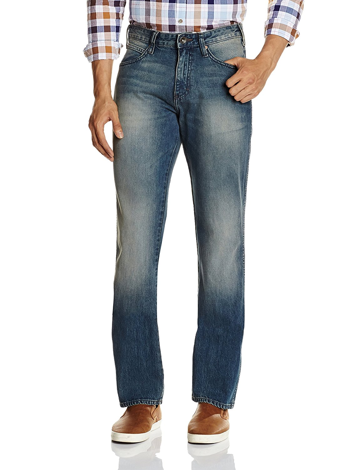 Amazon - Buy Wrangler Men's Cotton Jeans in 80% off