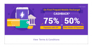 PhonePe Airtel Recharge offers - Get Cashback and Discount on Airtel Recharge