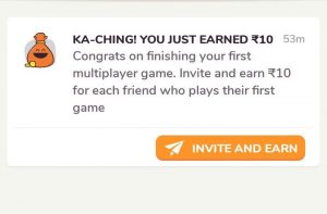 Kapow Game App - Play First Game and get Rs.10 + Refer and Earn