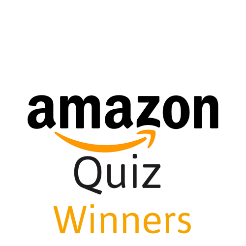Amazon Quiz Winners - List of All Amazon Quiz Contest Winners