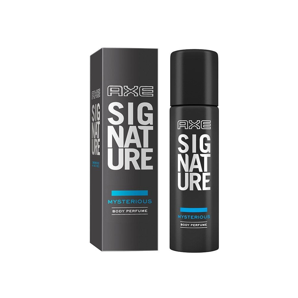 Amazon - Buy AXE Signature Mysterious Body Perfume in just Rs 191