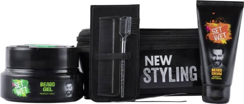 Flipkart - BuySet Wet Beard kit (Set of 5) at Rs.123 Only