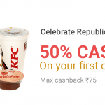 PhonePe KFC Offer - Get 50% Cashback on First Order
