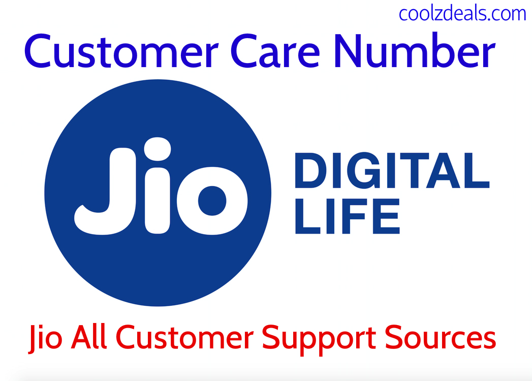 Reliance Jio Customer Care Number Toll Free 24×7