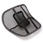 Amazon - Buy Generic CBRNE Mesh Ventilation Back Rest with Lumbar Support in just Rs 96
