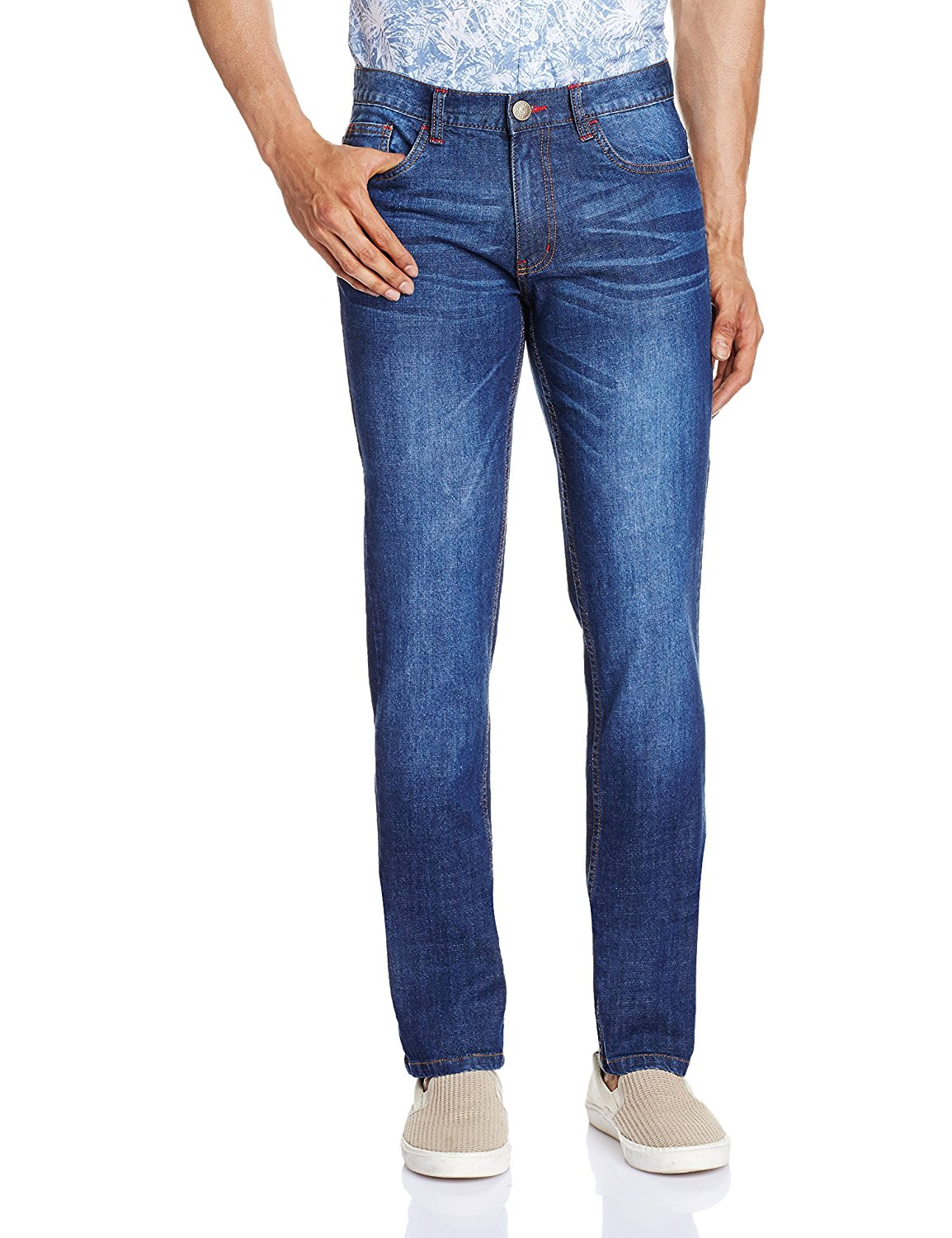 Amazon - Buy Newport Men's Slim Fit Jeans from Rs.299