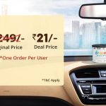Droom Sale - Get Car perfume worth Rs 249 in Rs.21