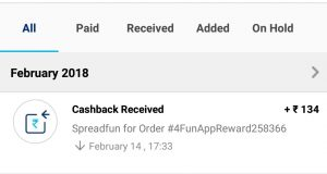 (Proof Added)4Fun Refer And Earn – Get Rs 30 Paytm Cash On Signup + Rs 5 Per Refer