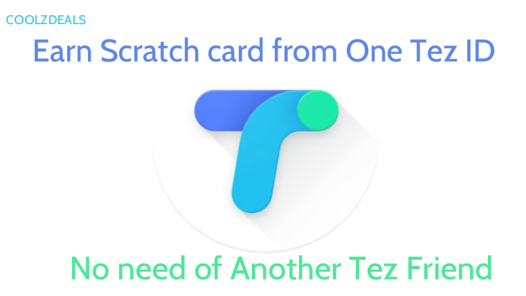 Earn and Win Tez Scratch Card With One Account (No Transfer Money to Others)