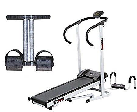 Buy Lifeline Manual Treadmill with Twister and Pushup Wheel attachment in just Rs 999