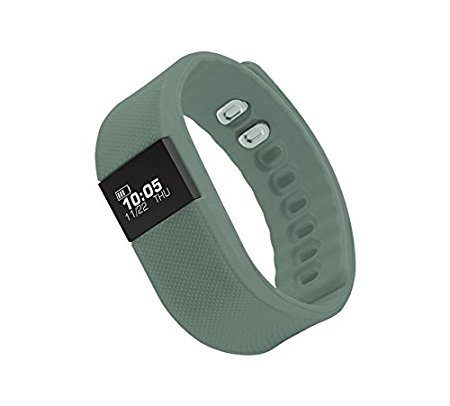 Amazon - Buy Zebronics Fit100 Fitness Band (Grey) in just Rs.449