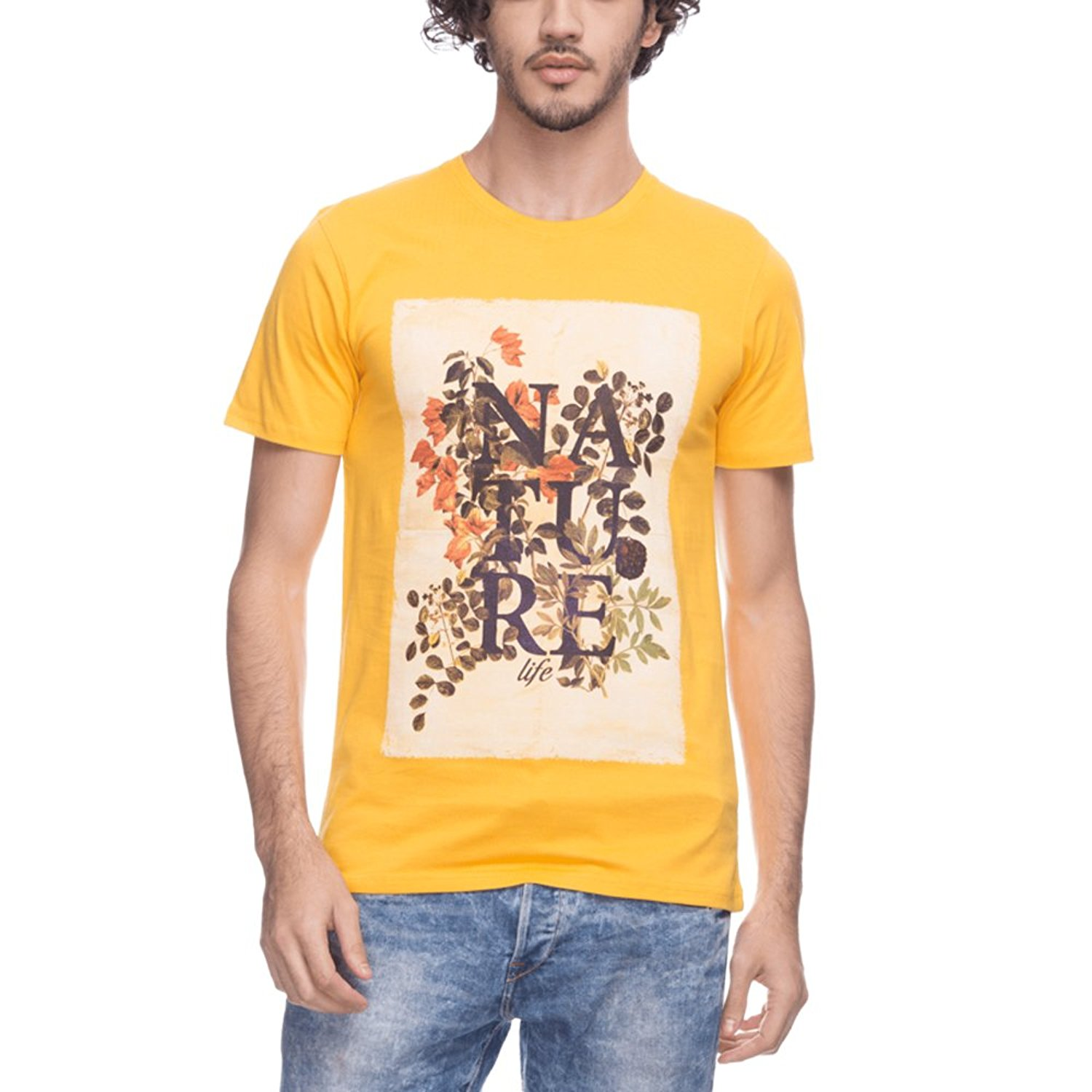 Amazon - Buy Life Men Graphic Print T-shirt Starting from Rs.179