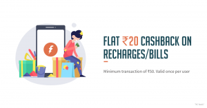 Freecharge Holi Offers - Get Rs.20 Cashback on Rs.50 Recharge