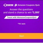 (Answers Added) Amazon Coupons Quiz Answers