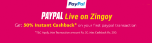 Zingoy Loot - Buy BMS Rs.100 Voucher Effectively in Rs.37 and Other GV's at 50% Off