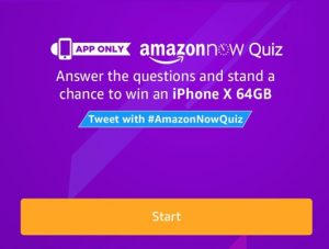 best service fccc3 848cc All Answers) Amazon Now Quiz - Answer & Win iPhone X 64 GB