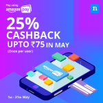 Niki App Amazon Offer - Get 25% Cashback up to Rs.75 with Amazon Pay Balance