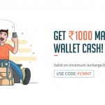 Get Rs.1000 Free MakeMyTrip Cash on Recharge of Rs.50 on Freecharge