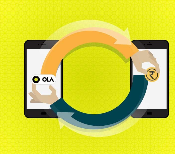 Ola Refer and Earn - Get Rs.50 on Sign Up and Earn Rs.50/Refer