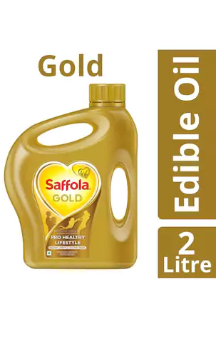 Paytm Mall - Buy Saffola Gold Edible Oil Jar 2 L in Just Rs.75 worth Rs.305