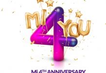 Xiaomi Mi 4th Anniversary 2018