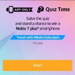 Amazon Nokia Quiz - Answer & Win Nokia 7 Plus Smartphone