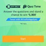 Amazon Garmin Vivofit 4 Quiz - Answer & Win Rs.5000