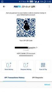 (*All Users*)Paytm UPI Offer - Send Rs 1000 To any UPI & get up to Rs 200 cashback