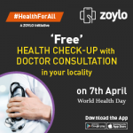Zoylo - Health Checkup Free and Consultation on World Health Day